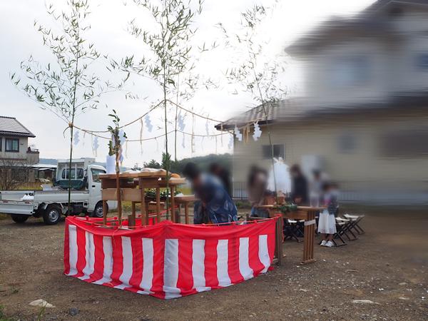 地鎮祭が執り行われました