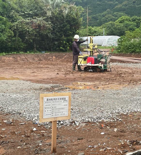 K様邸 地盤調査・地盤改良工事
